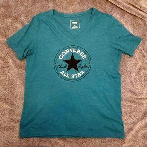 Converse All-Star Teal T-Shirt